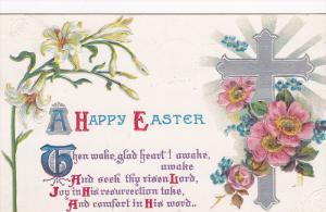 Easter Cross Greetings #2 , PU-1911
