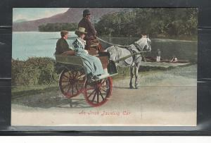 IRELAND AN IRISH FAUNTING CAR - IRISH LIFE