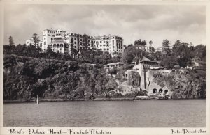 Reids Palace Hotel Funchal Portugal Vintage Real Photo Postcard