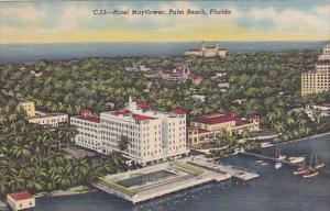 Florida Palm Beach Hotel Mayflower Curteich