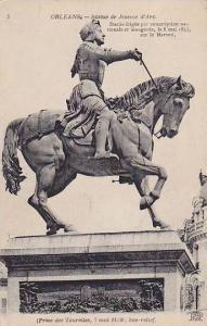 Statue De Jeanne d'Arc, Orleans (Loiret), France, 1900-1910s
