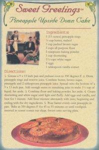 Recipe - Sweet Greetings - Pineapple Upside Down Cake