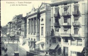 spain, VALENCIA, Teatro Principal, Theatre (1920s)