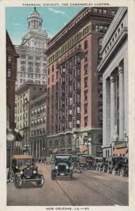 NEW ORLEANS , Louisiana , 00-10s ; Financial District, The Carondelet Canyon