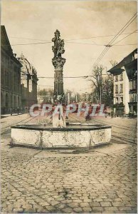 Postcard Modern Tramway Bern Kindlifresserbrunnen