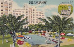 Florida Miami Beach The Vanderbilt On The Ocean With Pool