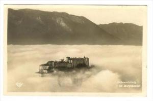 RP, Hohensalzburg Im Morgennebel, Austria, 1920-1940s