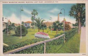 Florida Jacksonville Tourist Recreation Grounds Municipal Light Plant