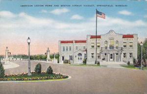 American Legion Home and Benton Avenue Viaduct, Springfield, Missouri, PU-1946