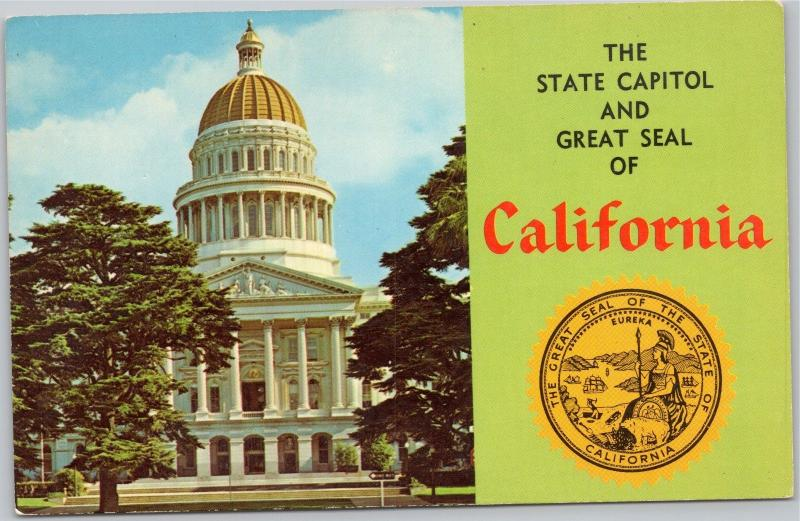 State Capitol and Great Seal of California