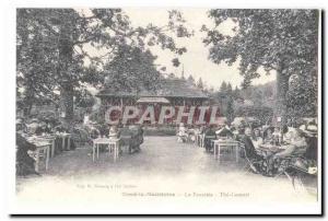 COPYRIGHT Tesse La Madeleine Old Postcard The Rose Garden concert