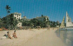 Moana Hotel , Waikiki Beach , Hawaii , 1950-60s