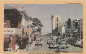 Florida Lakeland Main Street Looking East Dexter Press sk1150a