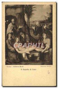 Postcard Old Torinno Galleria Reale It Deposito di Grace