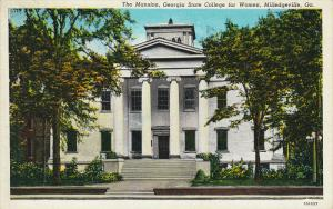 The Mansion,. Georgia State College for Women, Milledgeville, Georgia, 30-40s