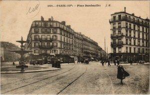 CPA PARIS 12e - Place Hambouillet (55831)