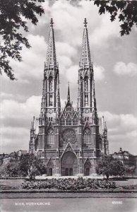 Austria Vienna Votivkirche Real Photo