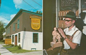 FRANKENMUTH , Michigan , 40-50s ; Schnitzelbank Shop and Woodworker