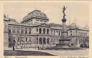 WIEN I. , Austria , 00-10s ; Universitat Liebenberg Monument