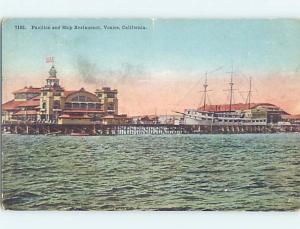 Unused W-Border SHIP RESTAURANT Venice - Los Angeles California CA B9149
