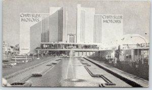 Chicago Illinois~Chrysler Motors Building @ World's Fair~Century of Progress~'33