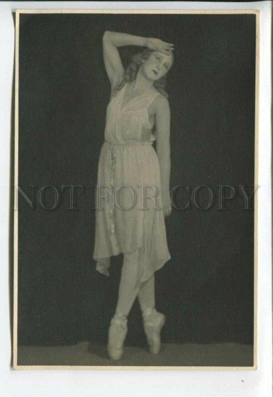 3168033 LUKOM Russian BALLET Star DANCER vintage REAL PHOTO