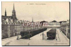 Old Postcard Nancy Place de la Carriere