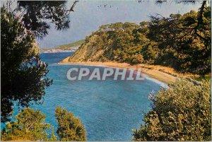 Modern Postcard the Pretty Beach Samos Tsamadou