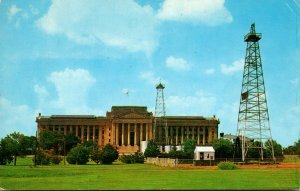 Oklahoma Oklahoma City State Capitol Building 1961