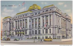 City Hall (Exterior), Newark, New Jersey, 1930-1940s