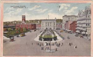 General view of Exchange Place, Providence, Rhode Island, PU-1917