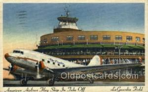 American Airlines Flag ship in take off Linen, Airplane, Airlines, Old Vintag...