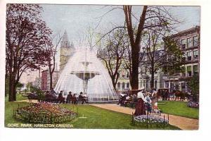Gore Park, Water Fountain, Hamilton, Ontario,