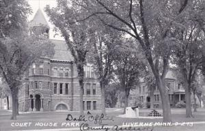 Court House Park Luverne Minnesota 1955 Real Photo