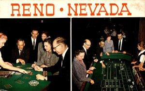 Nevada Reno Harolds Club Casino View Blackjack and Craps