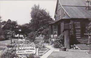 Flower Garden and Freckles Window Limberlost State Memorial Indian Department...