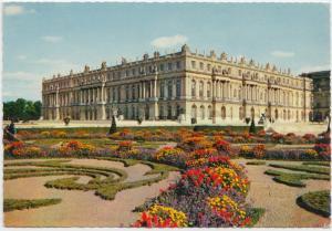 CHATEAU DE VERSAILLES, Facade sur le Parc Jardins a la Francaise, Postcard
