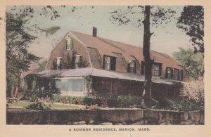 MARION, Massachusetts, 1926; A Summer Residence