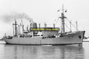 mc0088 - Shaw Savill Cargo Ship - Deseado , built 1961 - photo 6x4