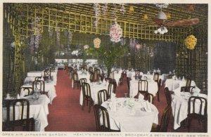 NEW YORK CITY , 1900-10s ; Healy's Japanese Restaurant, Broadway & 66th