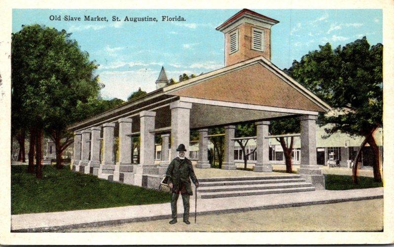 Florida St Augustine Old Slave Market 1927