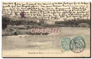 Old Postcard Presqu'ile de Giens 39ile Sanatorium Renee Sabran