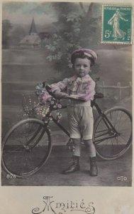 RP: Bonne Fete , Child & Bicycle , 00-10s