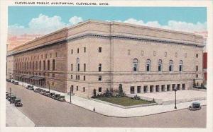 Cleveland Public Auditorium Cleveland Ohio