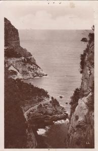 Algeria Bougie Cap Noir et la route de la Corniche au Cap Carbon