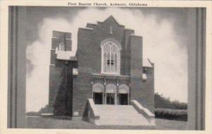 Oklahoma Ardmore First Baptist Church