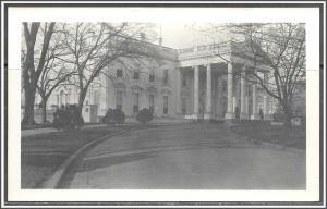 Washington DC White House Azo RPPC - [DC-049]