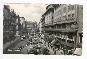 RP: WIEN , Austria , 1940s Street view  Graben #2