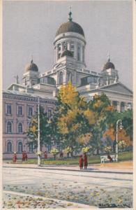 HELSINKI, Finland, 1900-1910's; Church