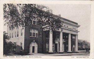 South Carolina Bennettsville Hotel Powers 1907
